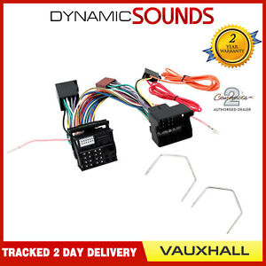 CT10VX04-Bluetooth-Parrot-SOT-T-Harness-Lead-Keys-for-Vauxhall-Corsa-2004-2014