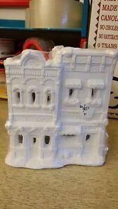 """California Creations """"Pet Shop/Flowers"""" #SE 191 Unpainted Plaster Building"""