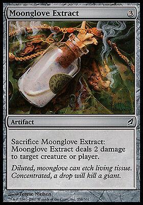4x Moonglove Extract Lorwyn MtG Magic Artifact Common 4 x4 Card Cards