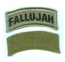 Operation Al-Fajr الفجر Vigilant Resolve OIF 2004 Iraq War Trophy Tab: FALLUJAH