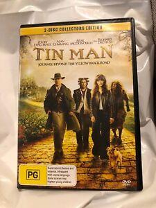 Tin-Man-Dvd-Zooey-Deschanel-Alan-Cumming-Nina-Mcdonough-R4-PAL-VGC-Collectors-Ed
