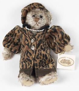 The Ganz Cottage Collectibles Teddy Bear Plush Leona In Leopard Lorraine Chien Ebay