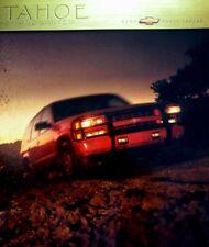2000 Chevrolet Chevy Tahoe Truck Sales Brochure Z71 Limited, Original Xlnt