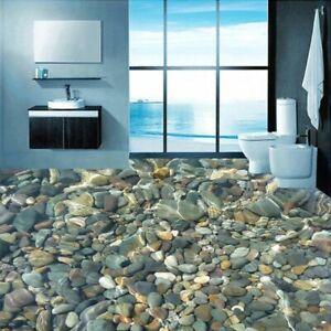 3d Pvc Wallpaper Home Decoration White Lotus Water Vector Bathroom Floor Waterproof Wallpaper For Bathroom 3d 250x175cm Amazon Com