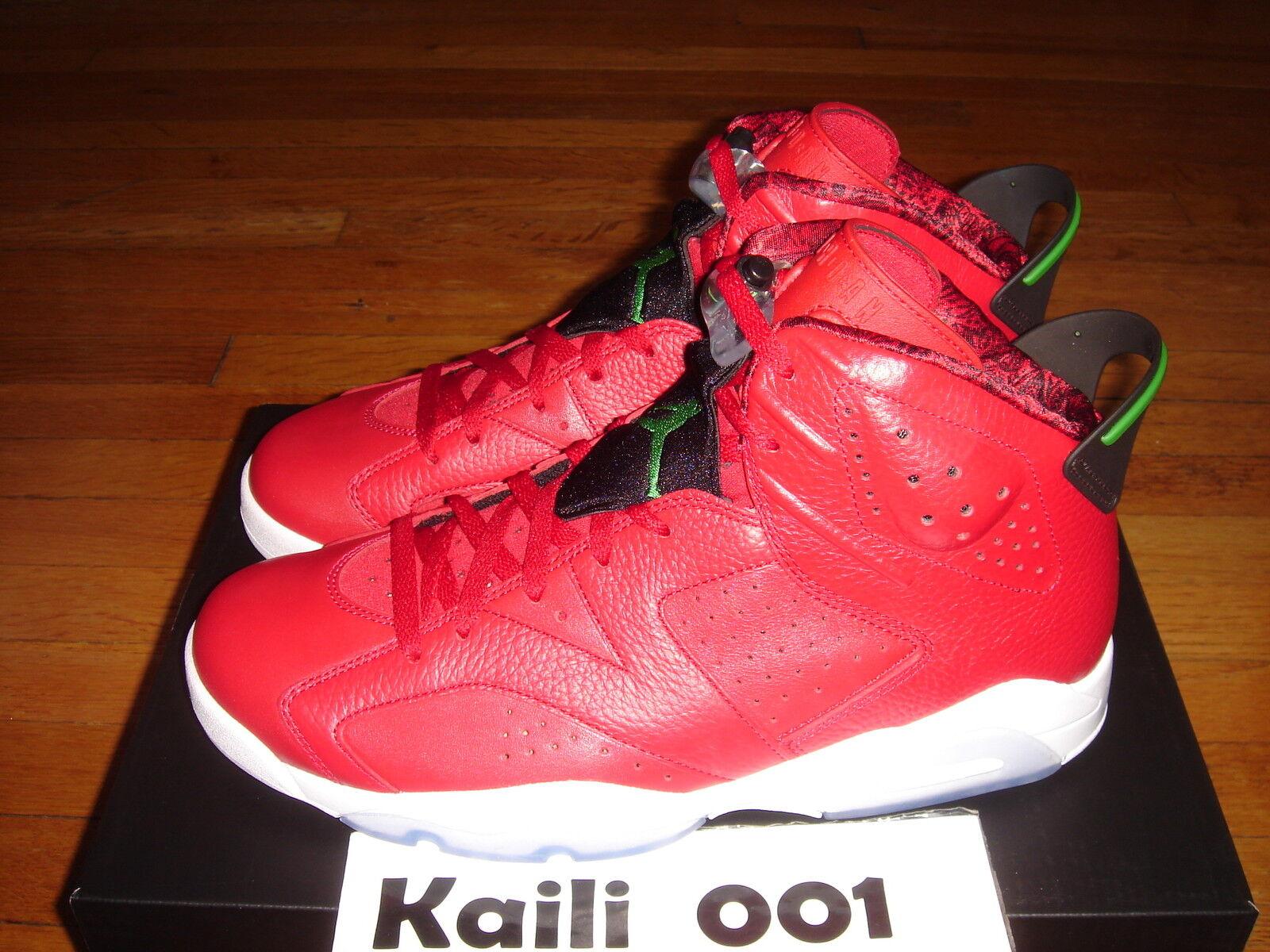 Nike Air Jordan 6 Retro Spizike History of Jordan Olympic Infrared DB Cigar A