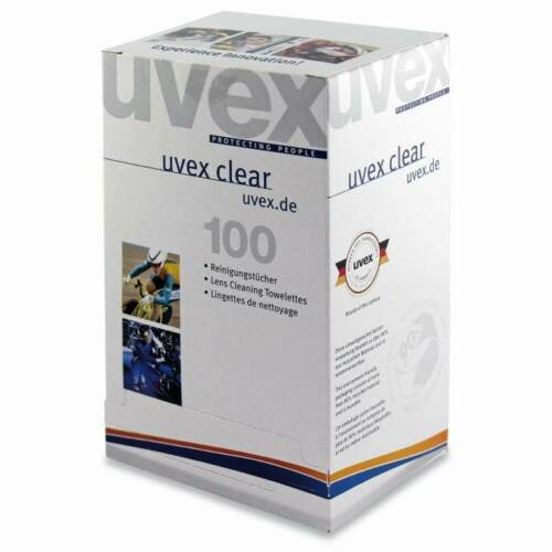 Wipes 9963.000 Safety Glasses Cleaning Towelettes Uvex Lens