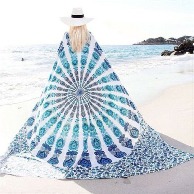 Decoration Towel Blanket Square Chiffon Beach Towel Bath Towels Yoga Shawl Wrap