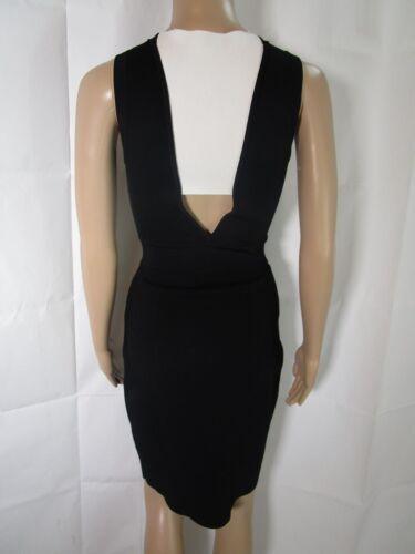 ALC Black White Bodycon Dress