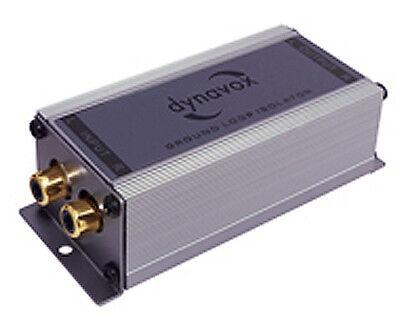 Dynavox GLI 2.1 / Stereo-Line-Isolator/Massetrennfilter/vergoldete Cinchbuchsen