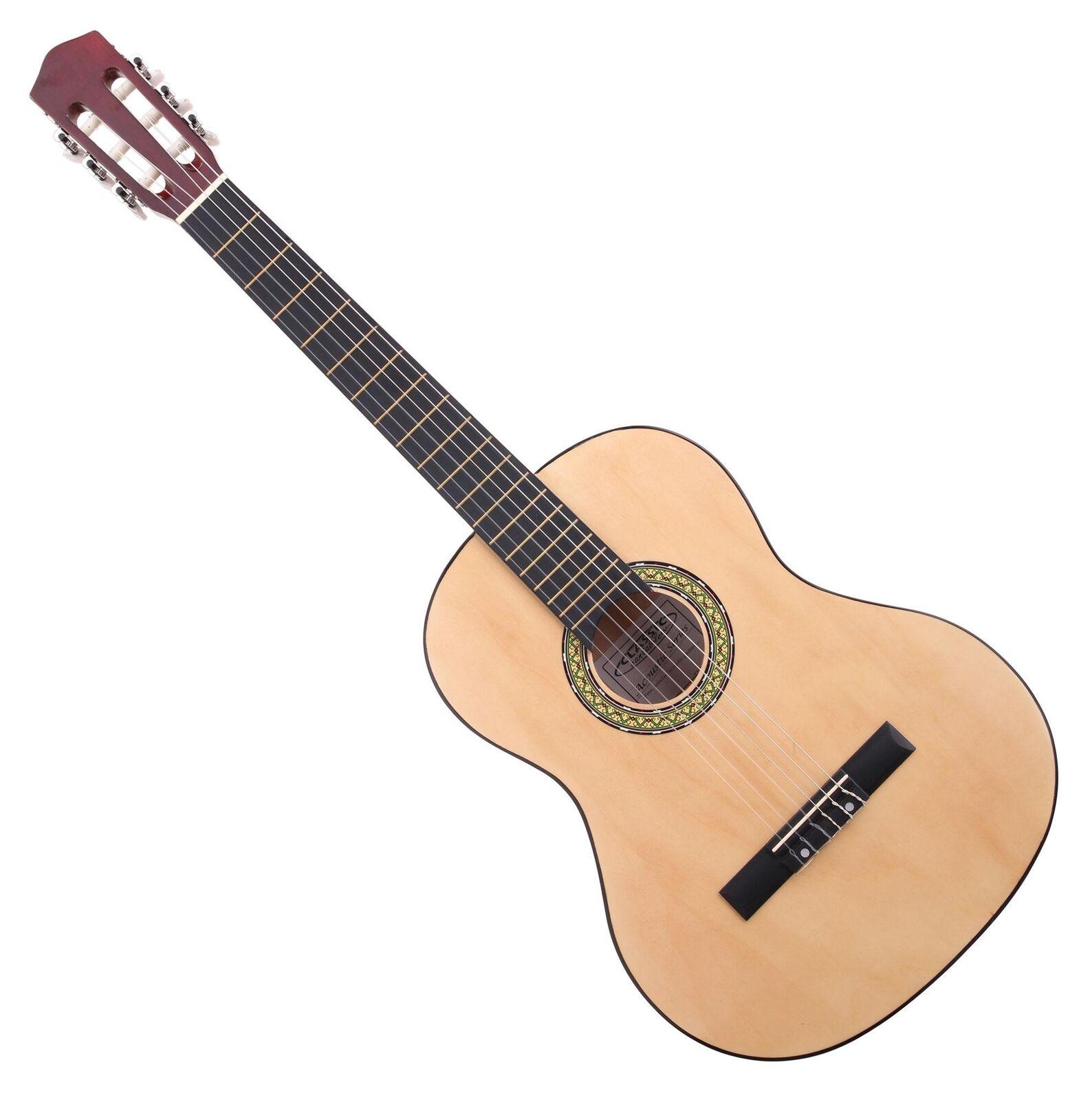 7/8 Linkshänder Akustik Gitarre Kinder Anfänger Konzert Gitarre Acoustic Guitar