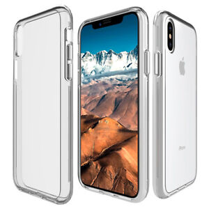 For-iPhone-X-8-7-iphone8-Plus-Clear-Case-Cover-Shockproof-Protective-TPU-Bumper