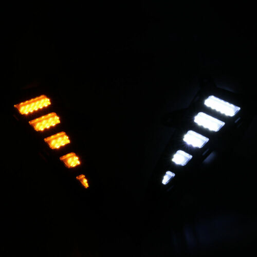 5x Full Kit LED Daytime Running Light Rear Bumper Reflector for Toyota CHR C-HR