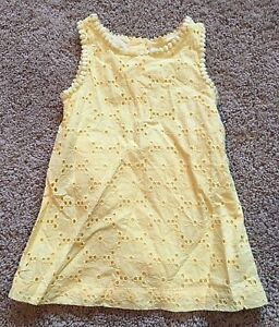 5907b7abe5be NWT Girls Yellow Sleeveless Dress 18 Months 490310590030