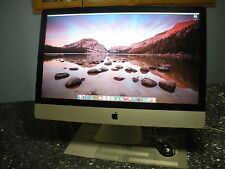"Apple iMac 27"" Desktop, Intel i7 2.8GHZ Quad-core, 8GB mem, 3 TB HD, DVD-WR"