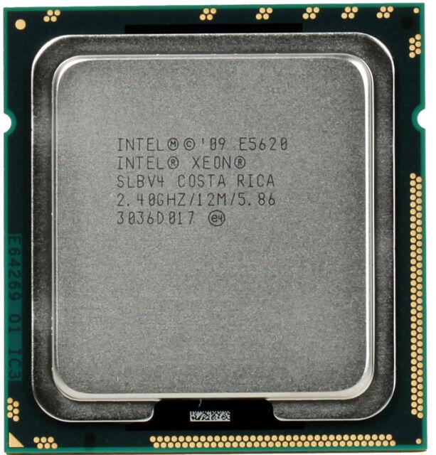➔ Intel Xeon Quad Core 2.4Ghz E5620 Processor CPU SLBV4 single CPU *AU stock*