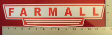 Farmall Large Classic sticker decal Tractor Case IH International Harvester