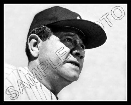 New York Yankees Babe Ruth #14 Photo 11X14