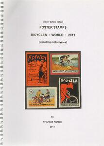 I-B-CK-Cinderella-Catalogue-Poster-Stamps-World-Bicycles-2011