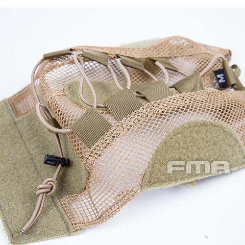 FMA Tactical Hunting Mesh Cover Skin For Fast Helmet BK//DE//Multicam TB1310