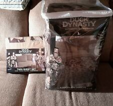 Duck Dynasty twin sheet set and comforter camo