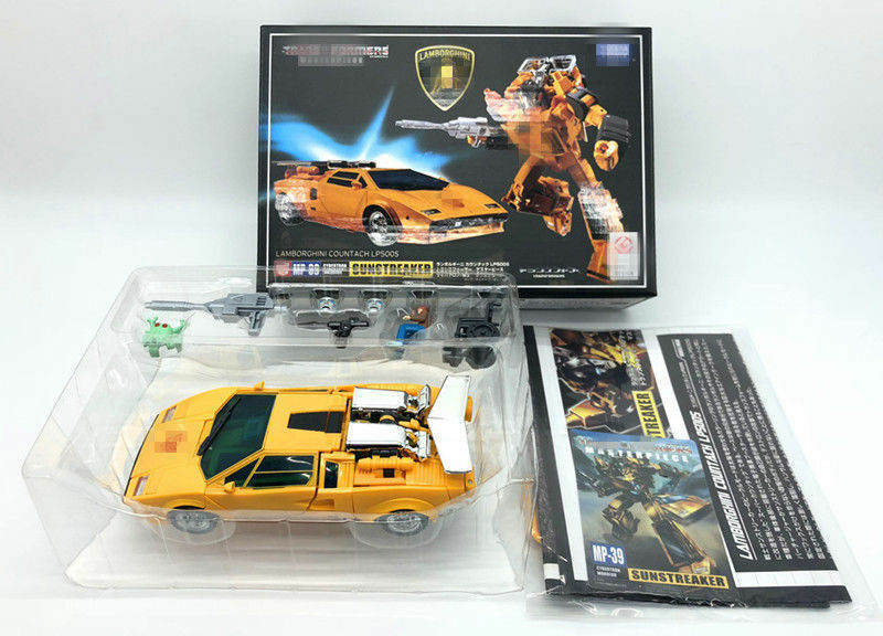 Transformers Transformers Transformers Masterpiece MP39 Sunstreaker Lamborghini Countach LP500S Figure Toy cefb9b