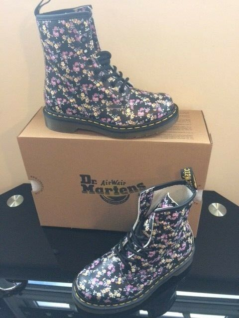 DR MARTENS AIR WAIR 1460 MINI TYDEE FLORAL BOOTS BOOTS BOOTS SIZE UK3 NEW FESTIVAL BOOTS 8a7d2e