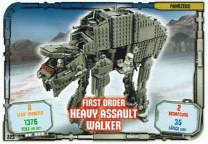 Lego-Star-Wars-Serie-1-Cartes-a-Echanger-Carte-223-Vehicule-Assault-Walker