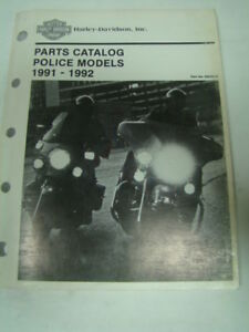 FXRP-FLHTP-Police-parts-catalog-99545-92-Harley-FXR-manual-1991-1992-EPS16439