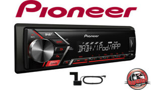 Pionero-mvh-s200dab-Radio-Digital-MP3-USB-AUX-incl-DAB-Antena-Vw-OPEL-BMW