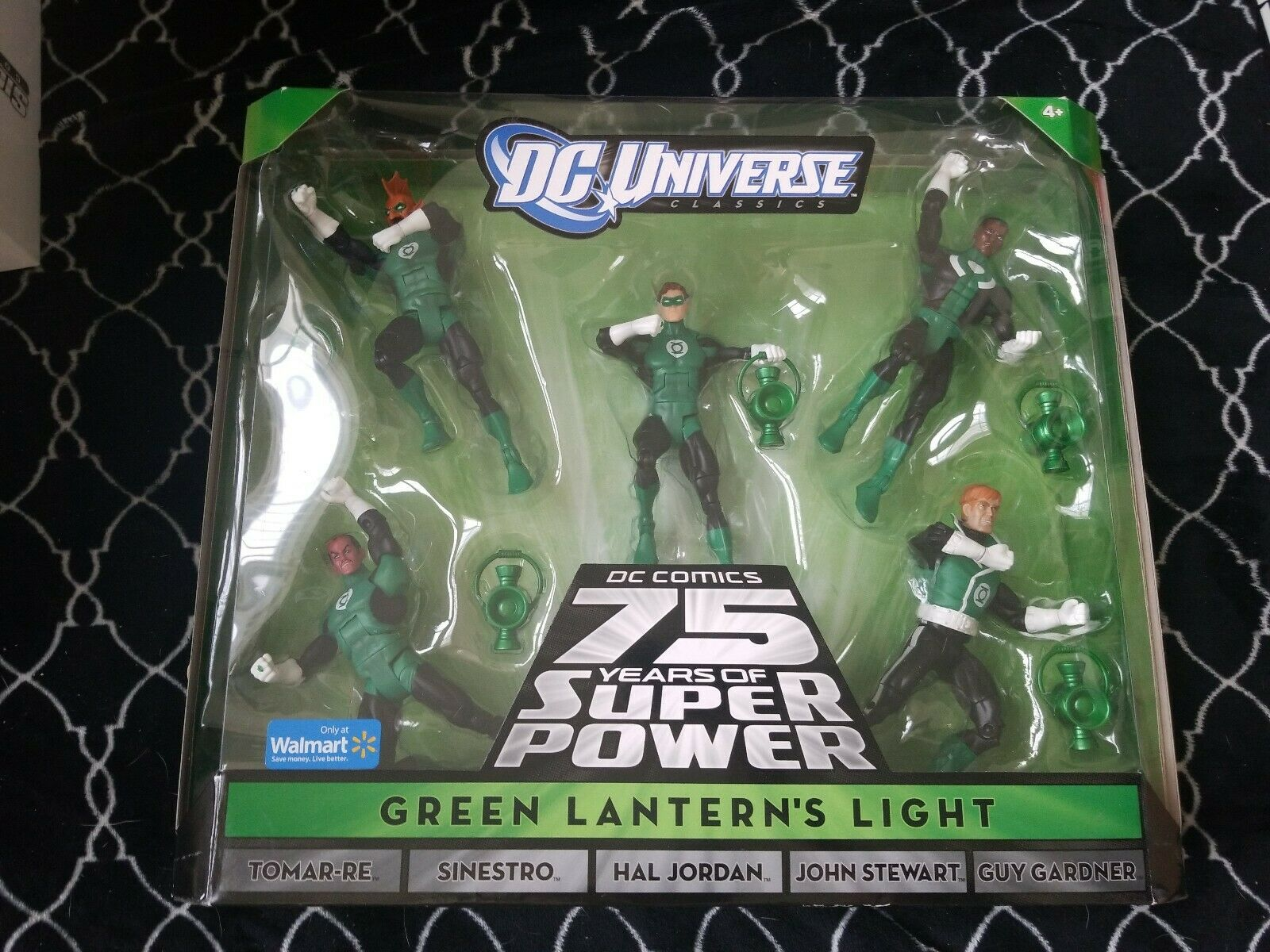 DC classeics verde LANTERN'S LIGHT 5 Pack Walmart Exclusive Hal Jordan Guy John