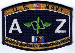 Aviation-Maintenance-Administration-AZ-RATING-HAT-PATCH-US-NAVY-USS-PIN-UP-VET
