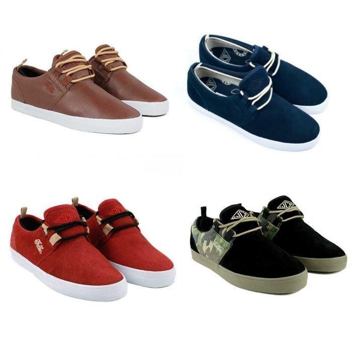 Fallen Shoes Capitol Jack Curtin USA SIZE FREE POST New Uomo Skateboard Scarpe da Ginnastica