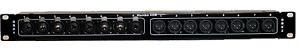 Mamba 16XDB - 8 Combo & 8 Male to 2 DSUB Tascam Analog Pin Out Patch Bay 1RU