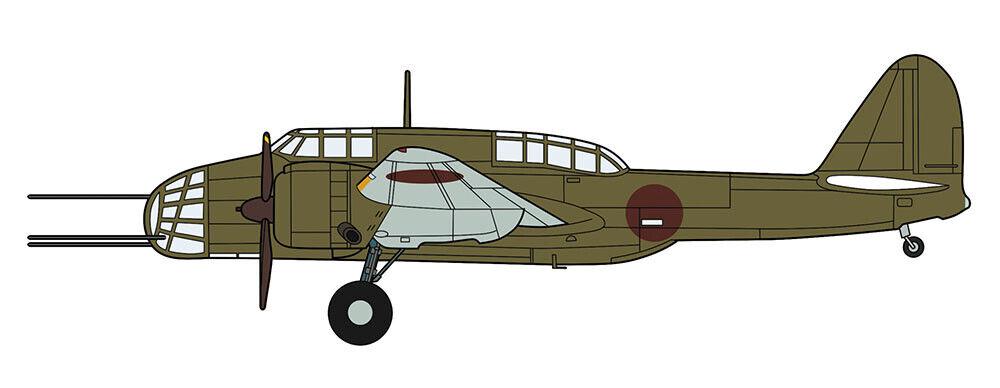 Hasegawa 1 72 Kawasaki Ki48-Ii Type 99 Light Bomber (Lily) [Special Equipment]