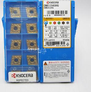New-KYOCERA-CNMG120408HQ-CA5515-CNMG432HQ-Carbide-Inserts-10PCS-Box