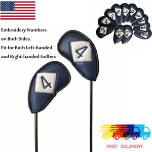 12Pcs-Golf-Iron-Covers-For-Ping-Taylormade-Titleist-Callaway-Right-amp-Left-Handed