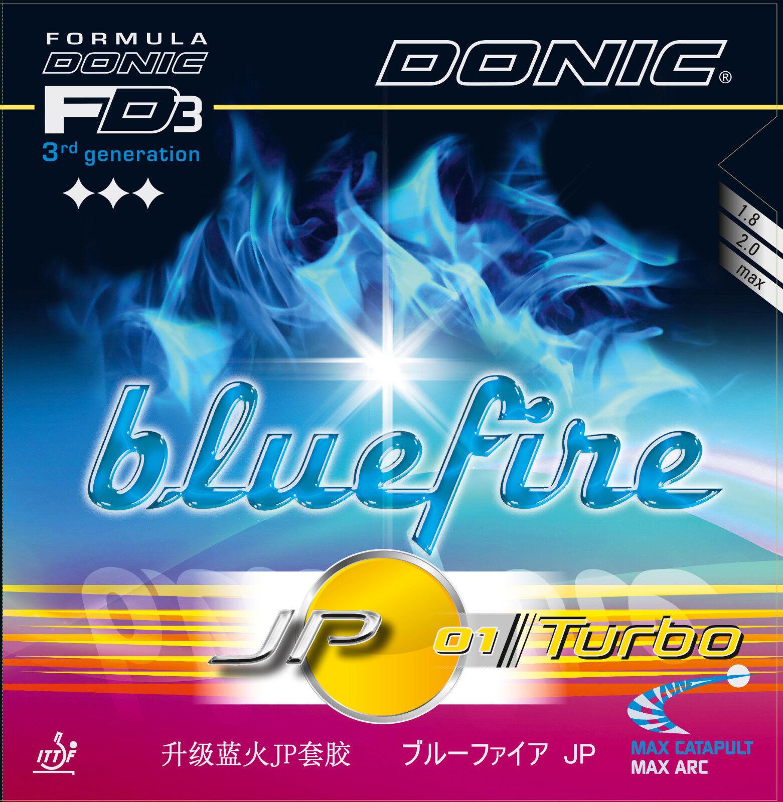 DONIC Blaufire JP01 JP01 JP01 Turbo 2 0mm rot  NEU   OVP fcc241