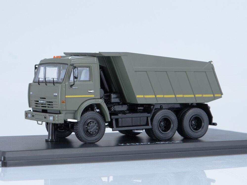 KAMAZ 65115 6x4 Dump Truck estrellat Scale modelloli 1 43 SSM314