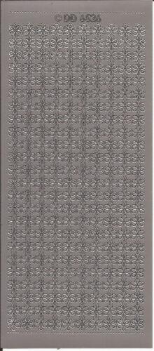 Cáscara Offs-Floral fronteras-Colorido pegatinas para card-making