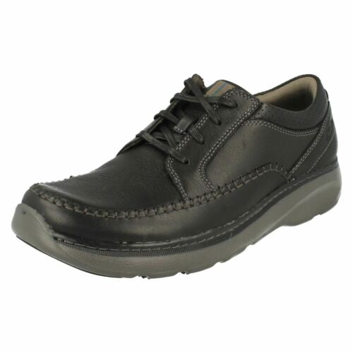 Clarks Lace Mens Size Charton Leather Work Shoes Vibe Up Lightweight Casual qwgaA6axn