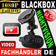 FullHD Dashcam BLACK BOX AUTO KFZ PKW/LKW DVR Kamera+NightVision 12-LED Car Cam