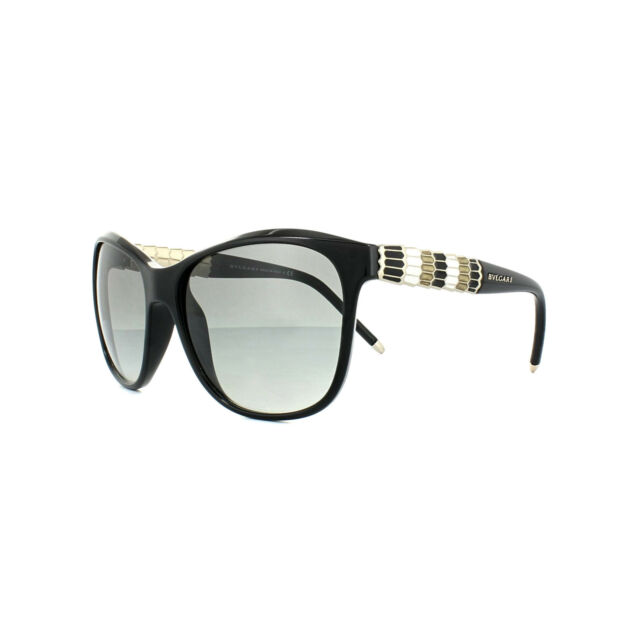 Bvlgari Sunglasses 8104 901//11 Black Grey Gradient