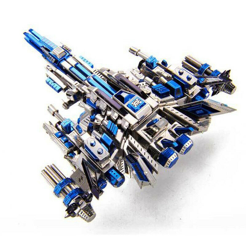 Microworld Mechanical Pilot 1 Spacecraft 3D Metal Puzzle Model Laser Cut Jigsaw