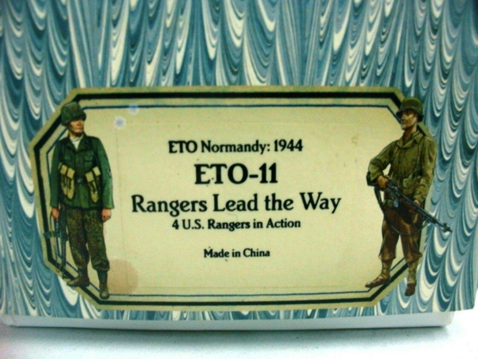 WOW EXTREMELY RARE Old Northwest Trading Trading D Day Eto11 US Rangers King & Country