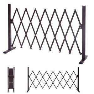 Alu-Absperrgitter-HWC-B34-Gitter-Zaun-Scherengitter-ausziehbar-207-261-300cm