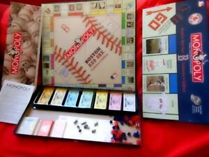 Boston Red Sox Monopoly Collector's Edition w/ 6 Pewter Tokens