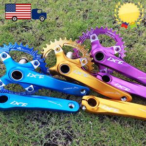 30-52t-104BCD-170mm-Crankset-Narrow-Wide-Chainring-MTB-Bike-Crank-Aluminum-CNC