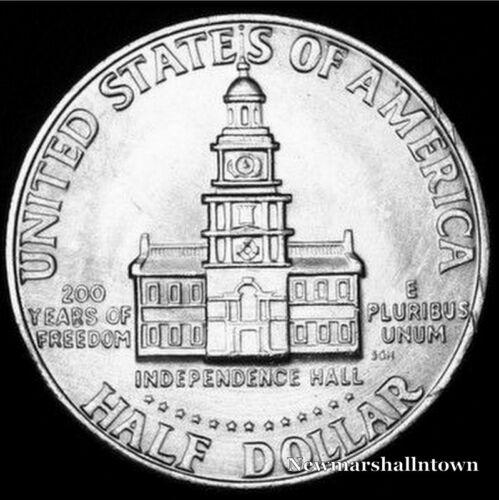 Coin from Bank Roll 1976 D Kennedy Half Dollar ~ U.S