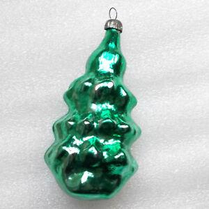 Antiker-Russen-Alten-Christbaumschmuck-Glas-Weihnachtsschmuck-Tannenbaum-Firtree