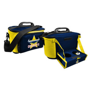 North-QLD-Cowboys-NRL-DRINK-COOLER-ICE-BOX-BAG-WITH-DRINK-TRAY-Christmas-Gift